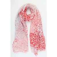 """Scarf """"Mitzy"""" red"""