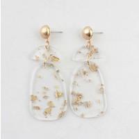 """Earring """"Saartje"""" gold"""