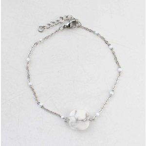 """Armband """"Sacha"""" zilver"""