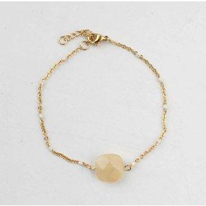 """Armband """"Sacha"""" goud"""