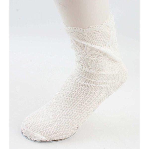 """Socken """"Silke"""" weiss, doppelpack"""