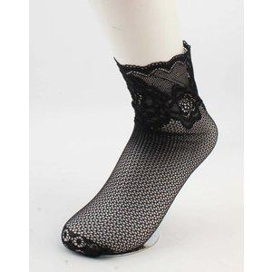 "Socks ""Silke"" black, per 2 pair"