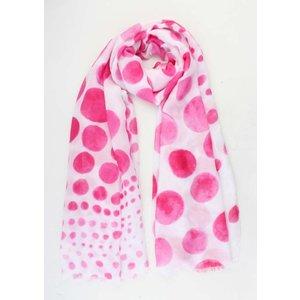"""Scarf """"Spring"""" pink"""