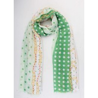 "Scarf ""Starlet"" green"