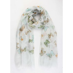 "Scarf ""Susan"" light green"