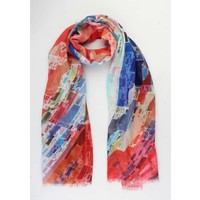 "Scarf ""Syenne"" red"