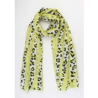 "Scarf ""Stien"" yellow"