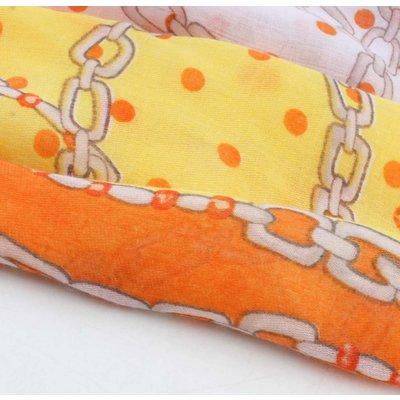 """Sjaal """"Starlet"""" oranje"""
