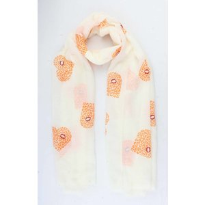 "Scarf ""Siona"" orange"