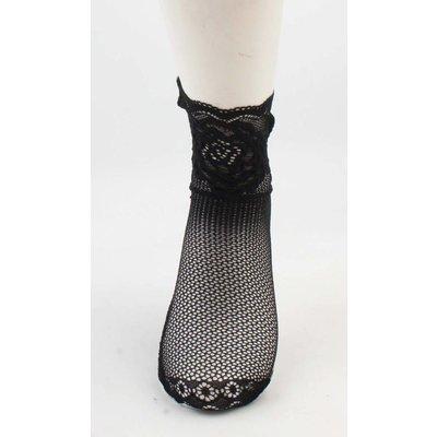 """Socken """"Silke"""" schwarz, doppelpack"""
