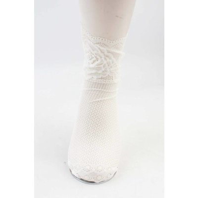 "Socks ""Silke"" white, per 2 pair"