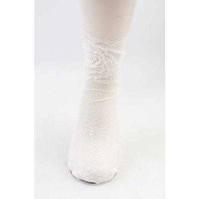 """Sokken """"Silke"""" wit, per 2 paar"""
