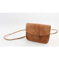 "Crossbody bag ""Selah"" brown"
