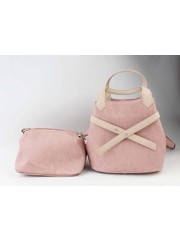 """Handtasche """"Salome"""" rosa/taupe"""