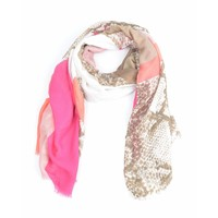 "Scarf ""Jay"" pink"