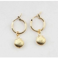 "Earring  ""Ambrosia"" gold"