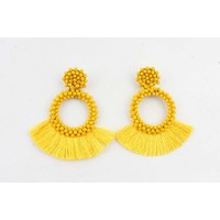 "Earring  ""Cala"" yellow"