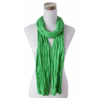 "Scarf ""Uni Jersey S"" grass green"