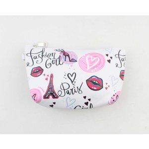 "Make up bag ""Elvira"" pink"