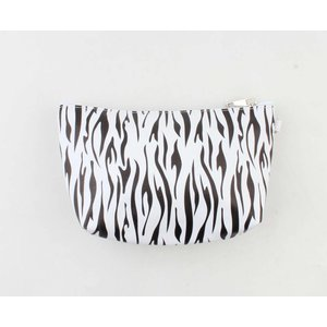"Make up bag ""Mirre"" black / white"