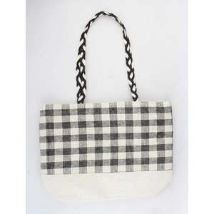 "Shopper  ""Deen"" creme/black"