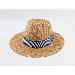 "Panama hoed ""Selin"" bruin"