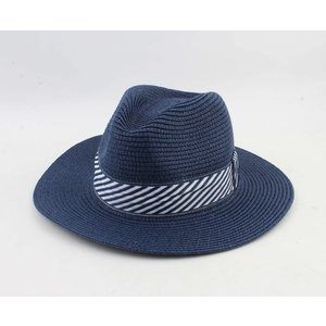 "Panama hat ""Selin"" army blue"