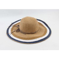 "Flap hat ""Vivian"" brown"