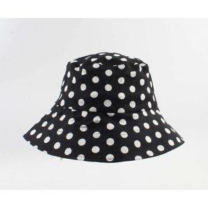 "Sun hat / Fisher hat ""Maura"" black"