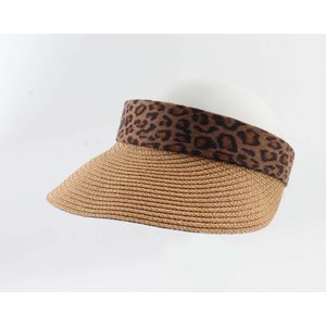 "Sun visor ""Lonneke"" brown"