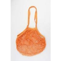 "Fishnet bag  ""Susan"" orange"