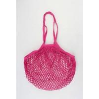 """Fishnet bag  """"Susan"""" fuchsia"""