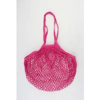 "Fishnet-Tasche  ""Susan"" fuchsia"