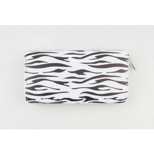 "Wallet ""Bella L"" black / white"