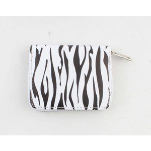 "Wallet ""Bella M"" black / white"
