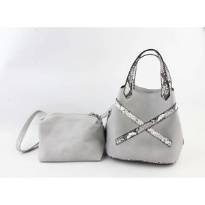 "Handbag  ""Salome"" grey"