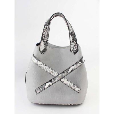 "Handtasche  ""Salome"" grau"