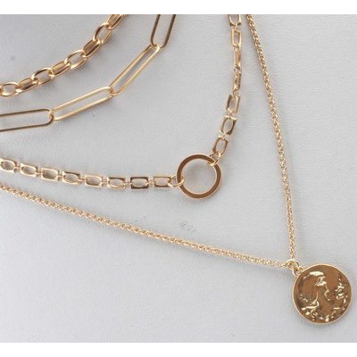 """Necklace  """"Tess"""" gold"""