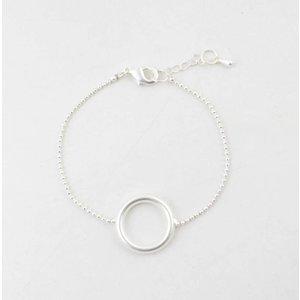 """Armband """"Tamar"""" zilver"""