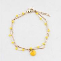 "Bracelet  ""Teuntje"" yellow/gold"