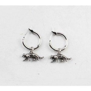 "Earring  ""Thaxa"" silver"