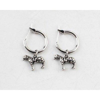 """Earring  """"Thya"""" silver"""