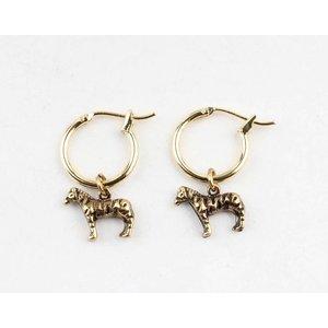 "Earring  ""Thya"" gold"