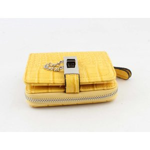"Wallet  ""Toma"" yellow"