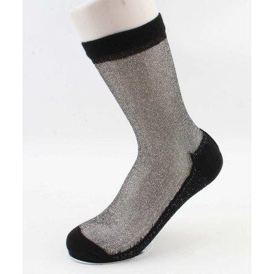 """Panty socks  """"trixie"""" black, per 2pcs."""