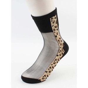 "Panty socks  ""Trudi"" black, per 2 pcs."