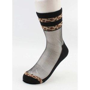 "Panty socks  ""Tyra"" black, per 2pcs."