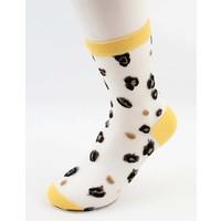 """Strumpfhose Socken """"Trui"""" gelb, doppelpack"""