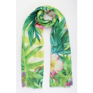 "Scarf  ""Valencia"" green/lime"