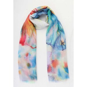 "Scarf  ""Veroniek"" blue"